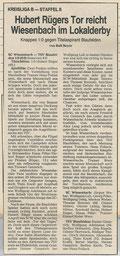 SCW - TSV Blaufelden 28.04.1991