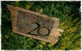 Namensschild für den Vorgarten