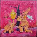 """""""Eleganz"""" Acryl auf LW 20x20 (01/2012)"""