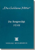 Reihe Goldene Mitte Heft 3 - Die Berpredigt Jesu - Buchcover