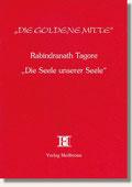 Reihe Goldene Mitte Heft 21 - Rabindranath Tagore - Die Seele unserer Seele Buchcover