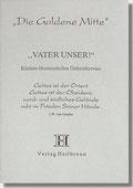 Reihe Goldene Mitte Heft 9 - Vaterunser - Kleines Ökumenisches Gebetsbrevier Buchcover