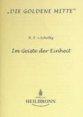 Reihe Goldene Mitte Heft 7 - Mushida Scholtz-Wiesner Im Geiste der Einheit Buchcover