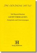 Reihe Goldene Mitte Heft 18 - Sufi Bayaezid Bastami - Licht über Licht  Buchcover