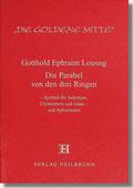 Reihe Goldene Mitte Heft 6 -Lessing Die Parabel von den drei Ringen Buchcover