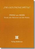 Reihe Goldene Mitte Heft 26 - Franz von Assisi - Bruder aller Menschen und aller Kreatur - Buchcover