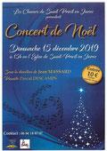 Concert 15 déc 2019
