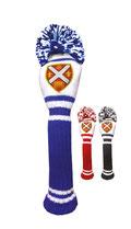 Schlägerhaube bedrucken, Schlägerhaube bedruckt, Golfwerbemittel, Schlägerhauben mit Logo, Schlägerhaube Golf, Logo Golfartikel, Überzieher Golfschläger