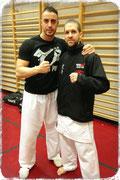Stefano Maniscalco & Marco Kuster (Akatsuki Karate 暁空手)