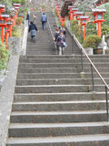 階段でさらに上へ!