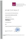 EVA Praxissoftware abasoft Zertifizierung BMP