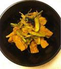 テンペと野菜の味噌炒め煮