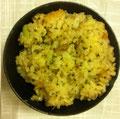 枝豆とマグロ缶の炊込ご飯