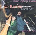 CD DUO REUBEN HARPE & PIANO. Shimon REUBEN  & Nehama REUBEN. 1997