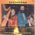 CD DODIM, Andalousian Jazzlights in Jerusalem.DUO REUBEN.1999. Shimon REUBEN & Nehama REUBEN