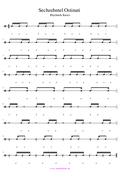Sechzehntelpause Ostinati PDF