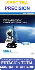 manual usuario estaciones totales spectra precision