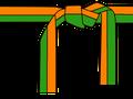 Naranja-verde