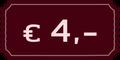 4,- EUR