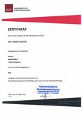 EVA Praxissoftware abasoft Zertifizierung ADT