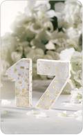 FIMOair light selbstgemachte Tischnummern für eure Hochzeit