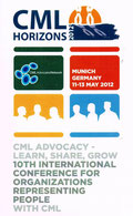 CML Horizons 2012 conference lmc france CML Advocacy: Learn. Share. Grow. 11-13 May 2012 Munich Germany