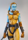 custom Star Wars - Twi'Lek 1/6 - Aayla Secura