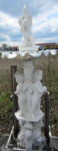 Putto - Marmorbrunnen für Garten - Yin & Yang Asiatika - Klaus Dellefant