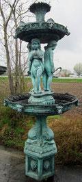 2 Schalen Brunnen - Kindergruppe