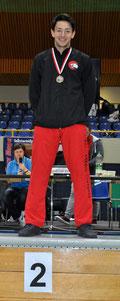 Jacky Tseng, 2. Rang, Kumite U21 +78kg