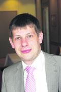Dr. Christoph Maurer sprach über die Folgen des Atomausstiegs. WZ-FOTO: Knothe