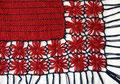 telar cuadrado y circular (flor) poncho