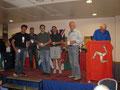 vlnr: Andy Glading, Tim Britton, Georg und Michael Mayr-Harting, Werner Siebenhaar, Phil Readshaw