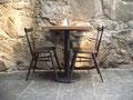 古城のカフェ