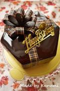*プレゼントボックスなケーキ*