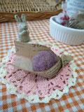 サクッとホロっと、まあるい紫芋クッキー