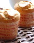 米粉のシンプルなマフィン