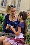 Visiter le Château des Princes de Condé à deux, avec les enfants, entre amis avec un un audio-guide gratuit de la Fée Clarine..  [Cliché Château de Condé - Anne-Sophie Flament - ADRT Aisne 02]