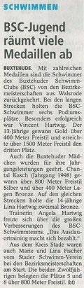 Buxtehuder Tageblatt vom 29.01.2014