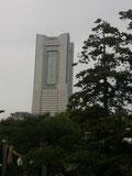 伊勢山皇大神宮からみたランドマークタワー