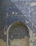 Shahrisabz : iwan de l'entrée de l'Ak Saray, décrit par Clavijo  (M.Schvoerer, 2008)