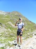 Lauf bei Kaiserwetter in den Alpen