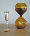 砂時計 3分計(左)、5分計(右)