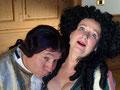 Casanova (Holger Schulze) und Sophie (Birgitt Schneider)