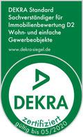 DEKRA zertifizierter Immobiliensachverständiger