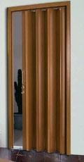 Puerta plegable pvc apertura izquierda
