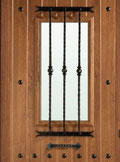 Reja larga forja puerta