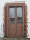 Puertas balconeras de aluminio y pvc