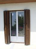 Puertas mallorquinas de aluminio
