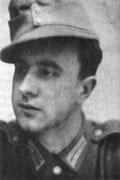Borchert als Soldat 1942